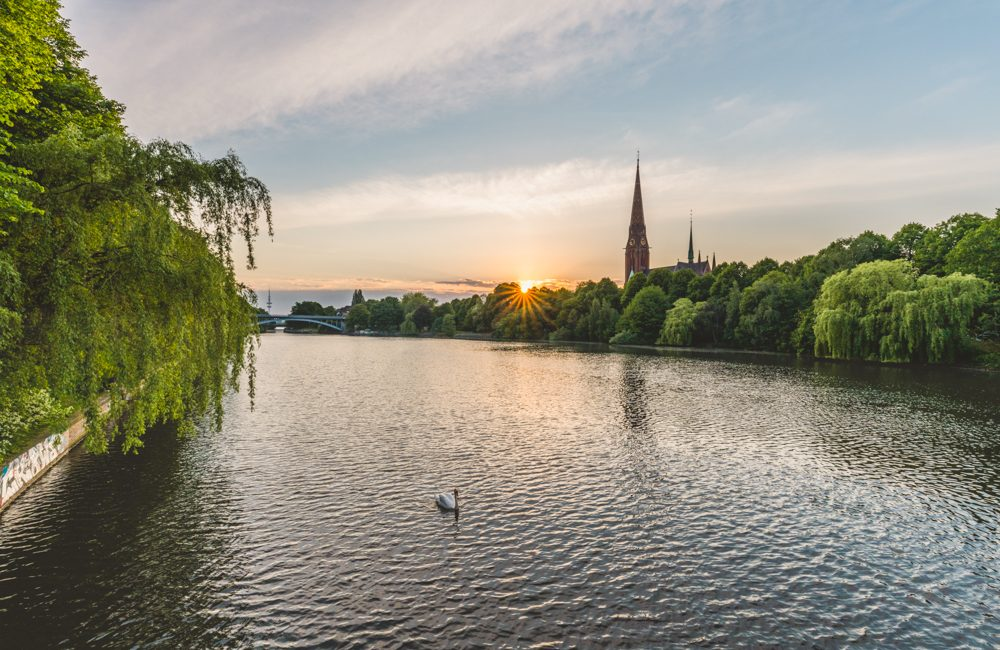 Kühmühlenteich in Hamburg. Foto: Kerstin Bittner
