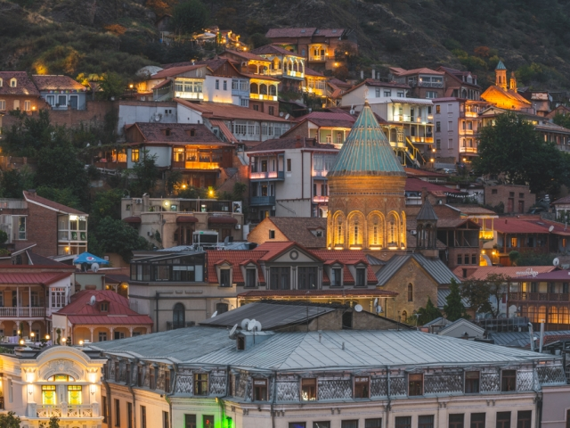 Alststadt von Tiflis, Georgien. Foto: Kerstin Bittner