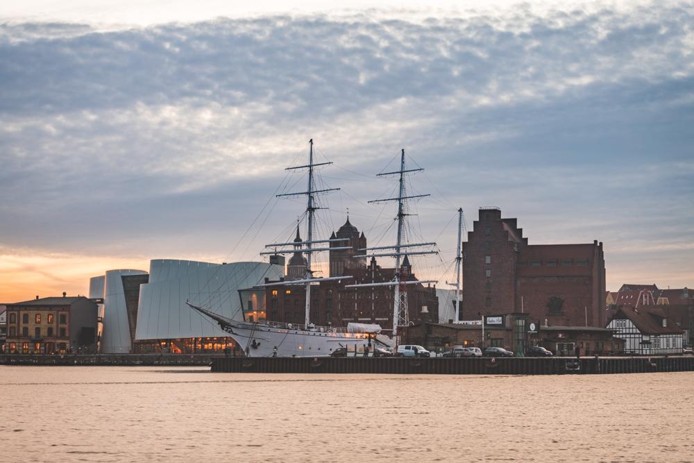 Stralsund Hafen. Foto: Kerstin Bittner