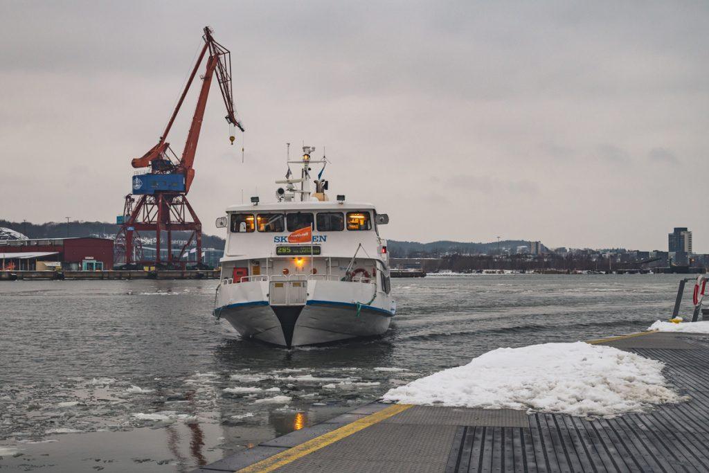 Hafenfähre in Göteborg, Schweden. Foto: Kerstin Bittner