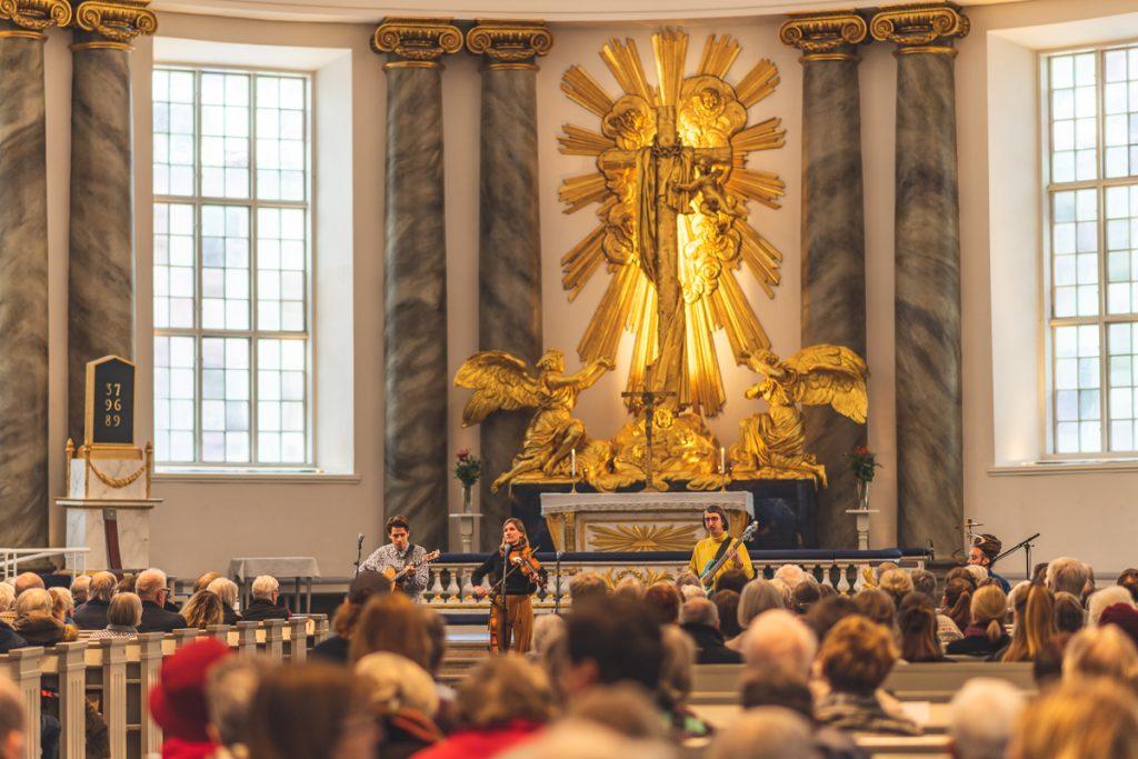 Konzert in der Domkirche in Göteborg, Schweden. Foto: Kerstin Bittner