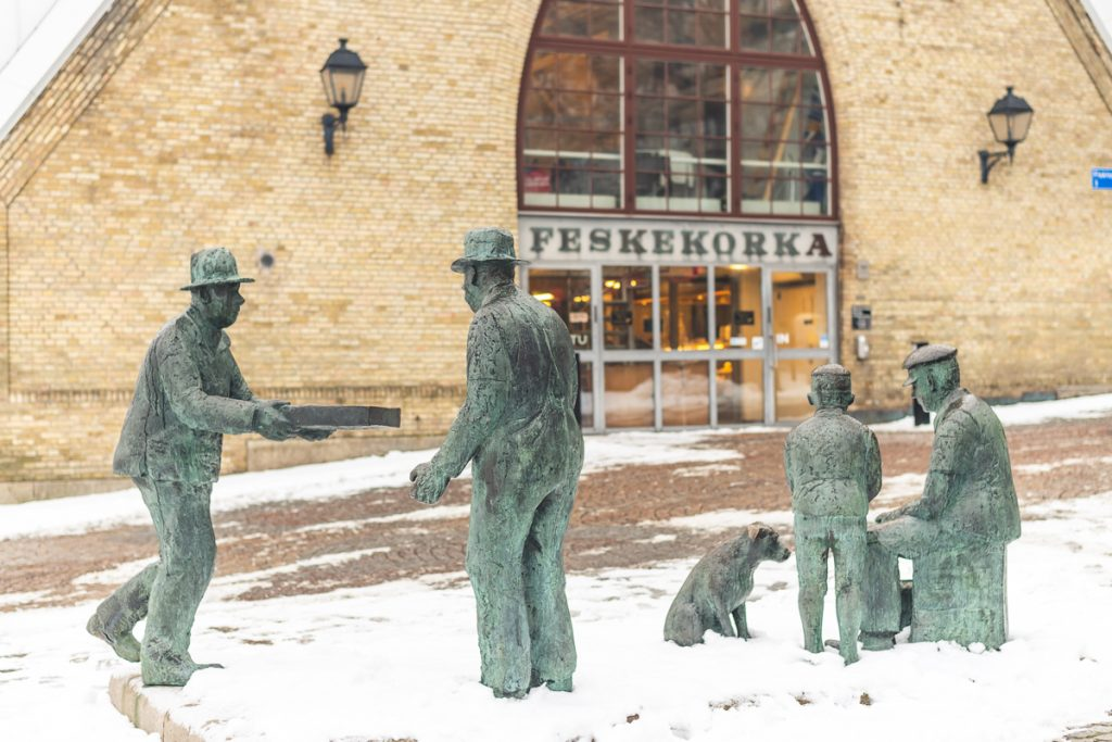 Fischhalle Feskekorka in Göteborg, Schweden. Foto: Kerstin Bittner