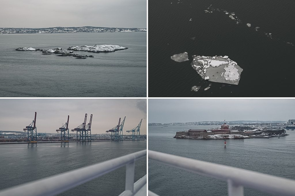 Hafeneinfahrt Göteborg, Schweden. Foto: Kerstin Bittner
