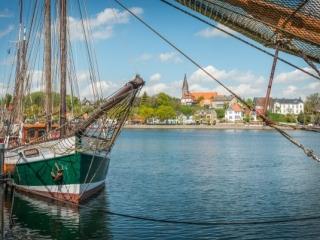 Hafen in Eckernförde. Foto: Kerstin Bittner