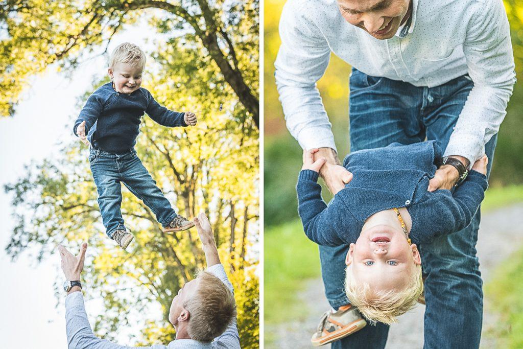 Familienfotografie und Babybauch. Foto: Kerstin Bittner