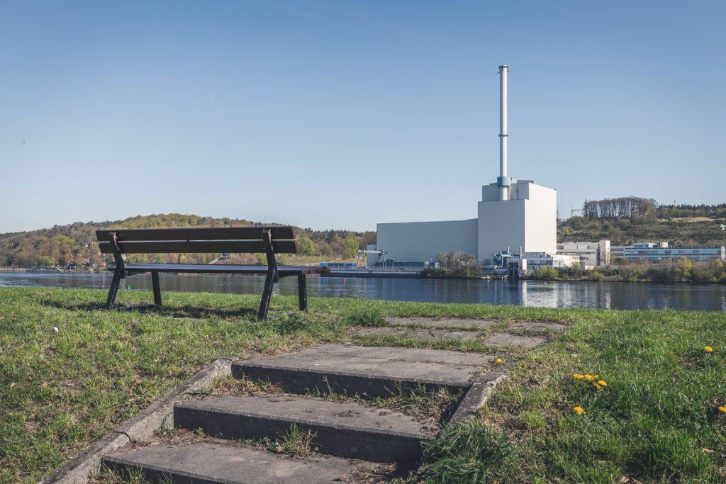 Blick auf das Kernkraftwerk Krümmel. Foto: Kerstin Bittner