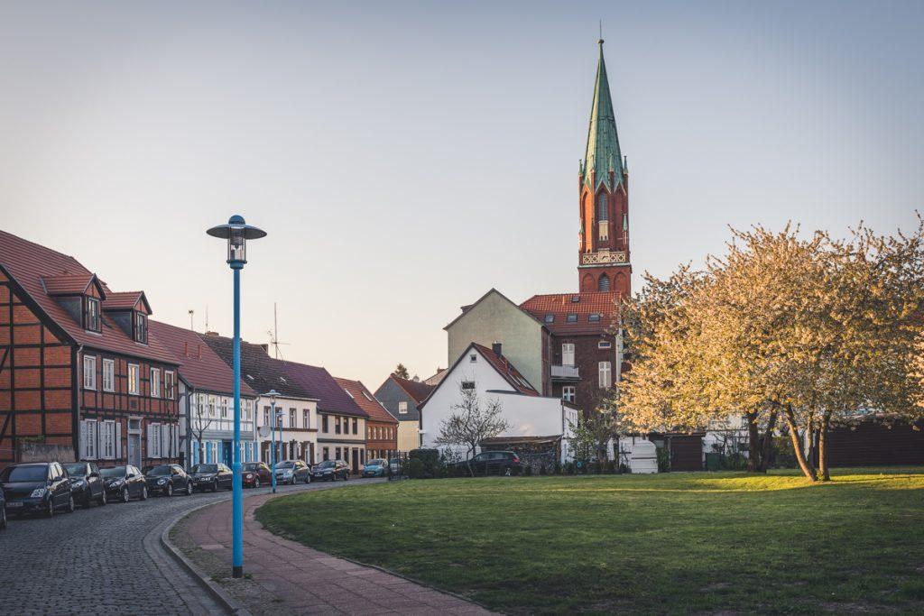 Evangelische Kirche in Wittenberge, Brandenburg. Foto: Kerstin Bittner