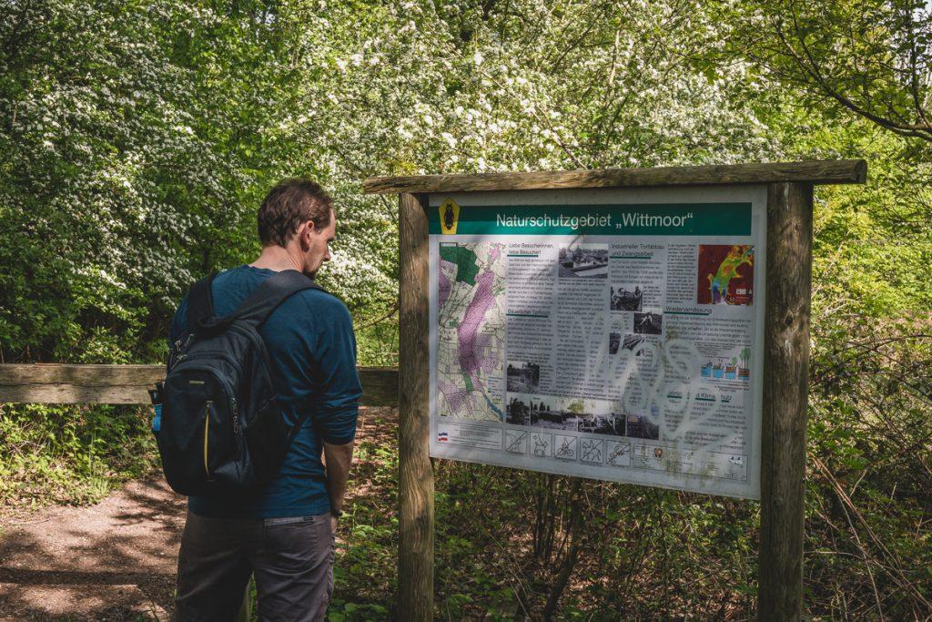 Naturschutzgebiet Wittmoor. Foto: Kerstin Bittner