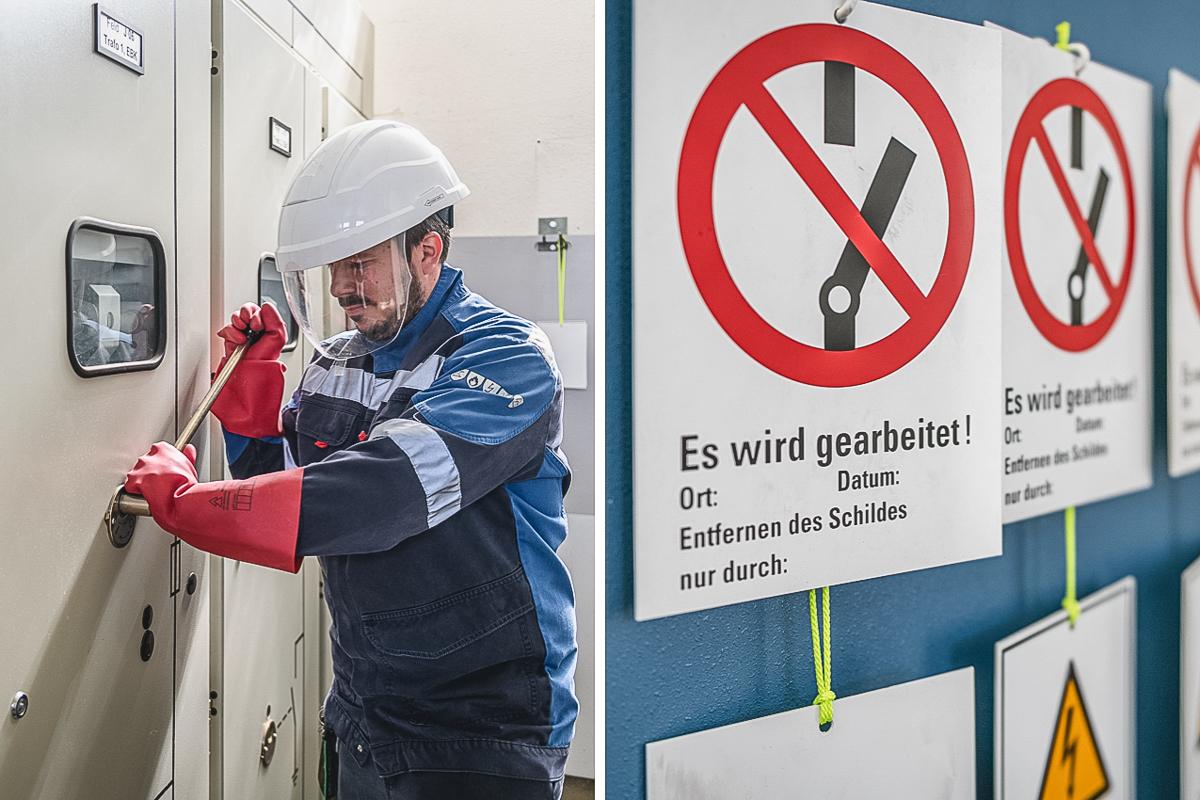 Mitarbeiter der Kläranlage Konstanz. Foto: Kerstin Bittner
