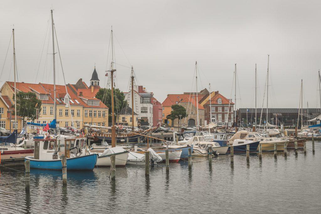 Hafen von Faaborg, Dänemark. Foto: Kerstin Bittner