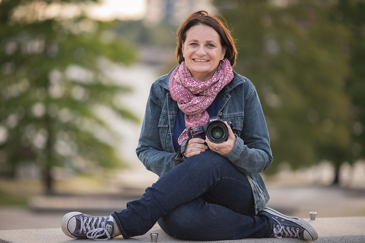 Porträtbild von Kerstin Bittner. Foto: Britta Loose-Buhr