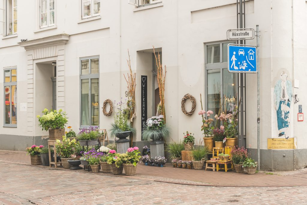 Lübeck, Hüxstraße. Foto: Kerstin Bittner