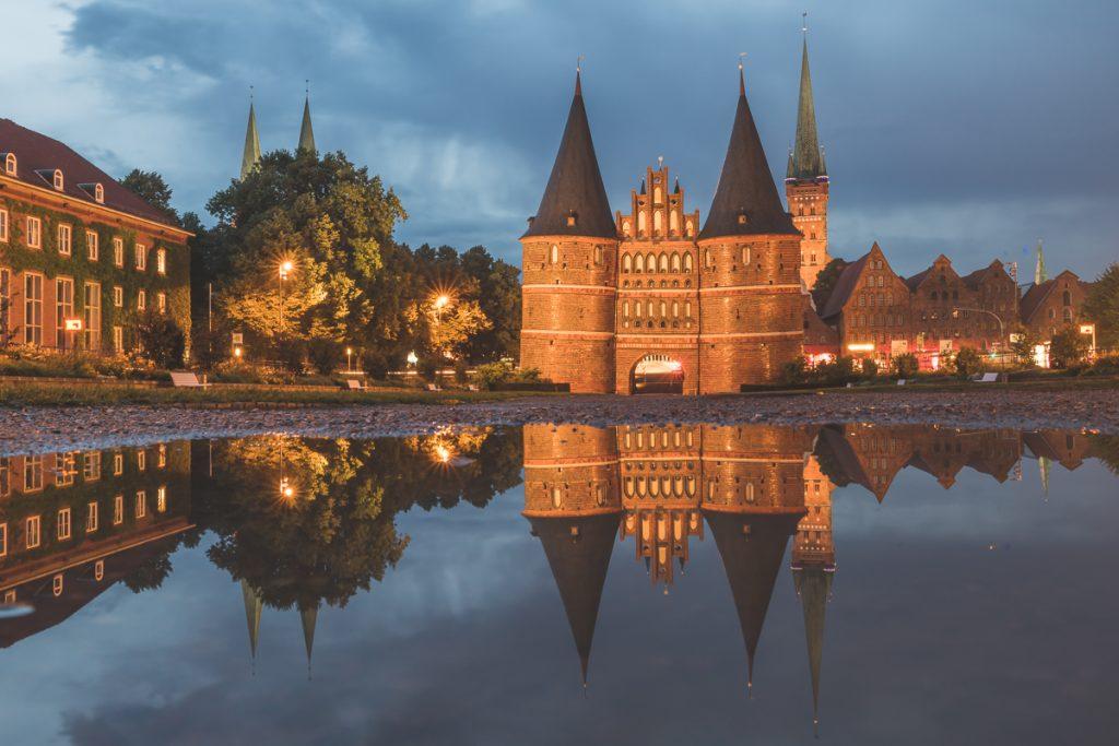 Lübeck, Holstentor. Foto: Kerstin Bittner