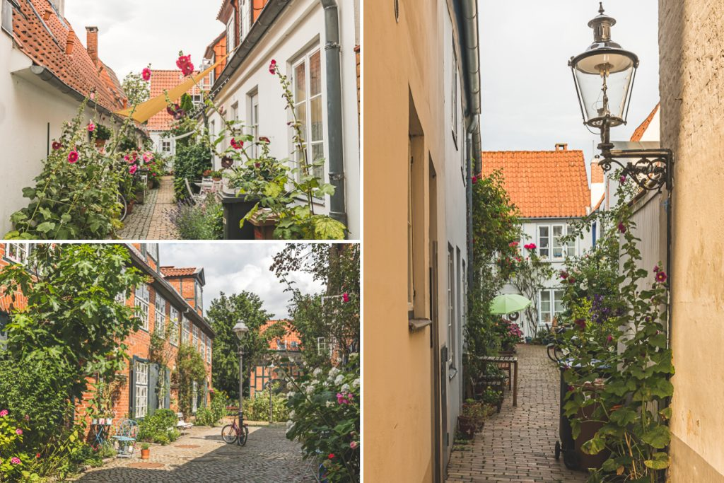 Lübeck, verschiedene Gänge. Foto: Kerstin Bittner