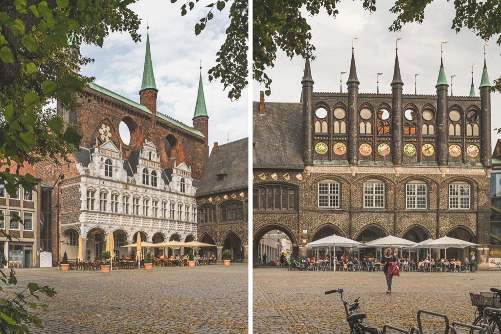 Lübeck, Rathaus. Foto: Kerstin Bittner