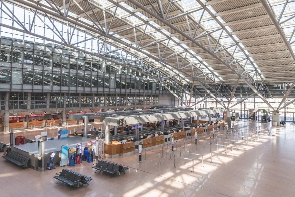 Hamburg Airport während des Lock Downs. Foto: Kerstin Bittner
