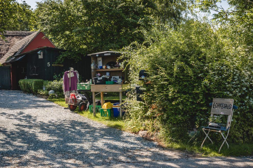 Blog Ærø. Flohmarkt. Foto: Kerstin Bittner