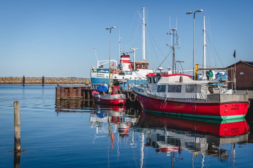 Blog Ærø. Fischerhafen Marstal. Foto: Kerstin Bittner