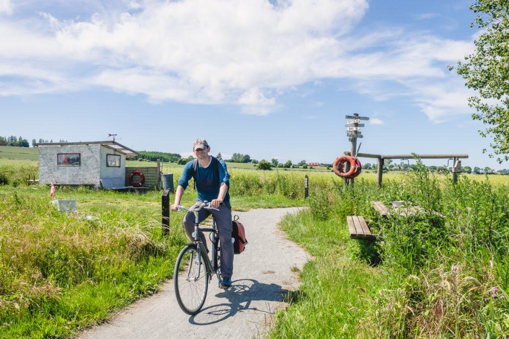 Blog Ærø. Radweg. Foto: Kerstin Bittner