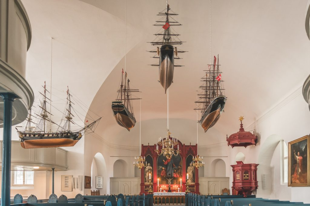 Blog Ærø. Kirche Marstal. Foto: Kerstin Bittner