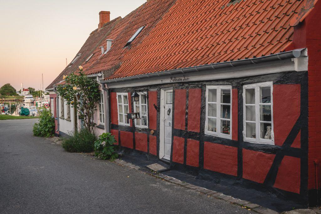 Blog Ærø. Häuser Marstal. Foto: Kerstin Bittner