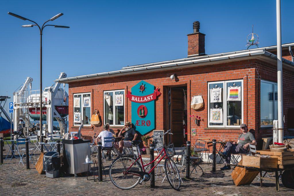 Blog Ærø. Kneipe Ballast Marstal. Foto: Kerstin Bittner