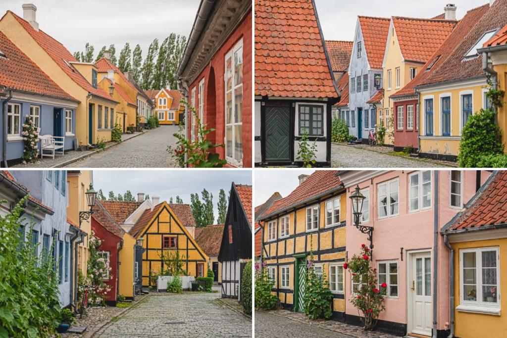 Blog Ærø. Häuser Ærøskøbing. Foto: Kerstin Bittner