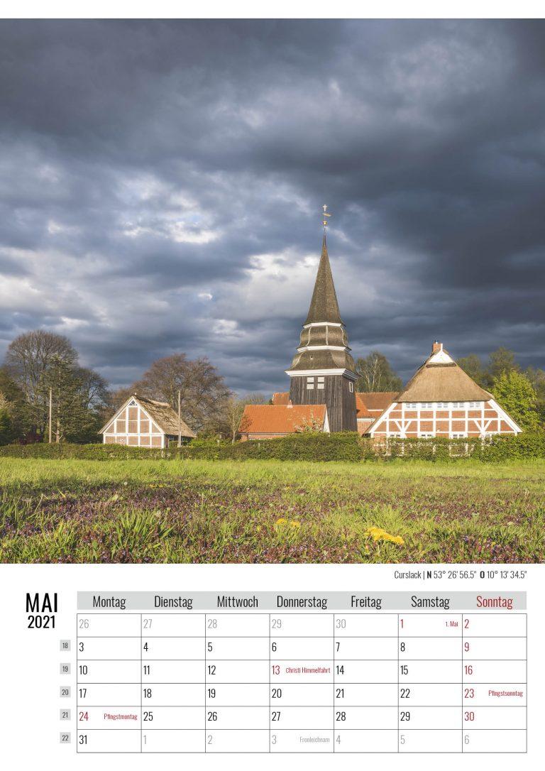 Mai. Curslack. Kalender Hamburg 2021. Auch das ist Hamburg. Foto: Kerstin Bittner
