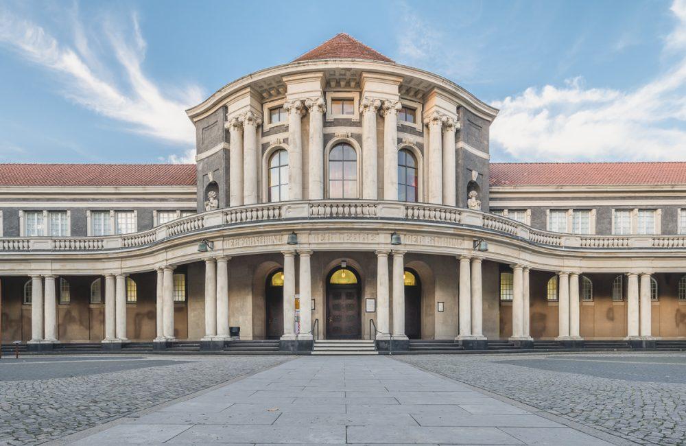 Eingangsbereich der Universität Hamburg. Foto: Kerstin Bittner
